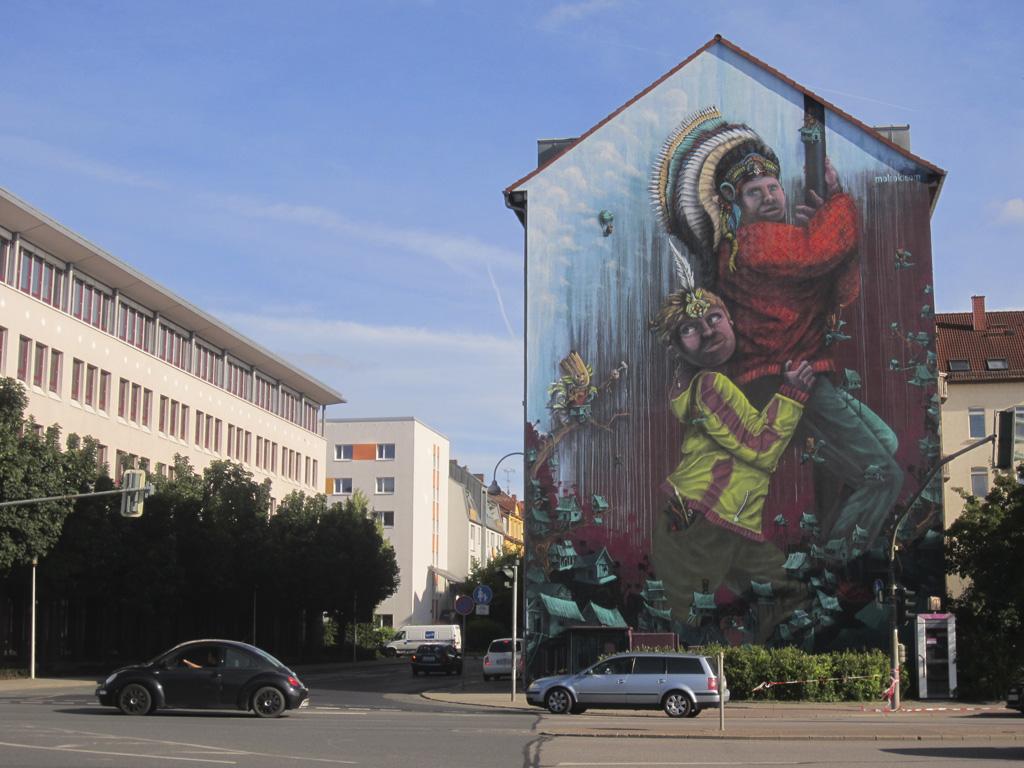 Wand Michael Ritzmann_Weimarische Straße_Fotografin Karina Halbauer